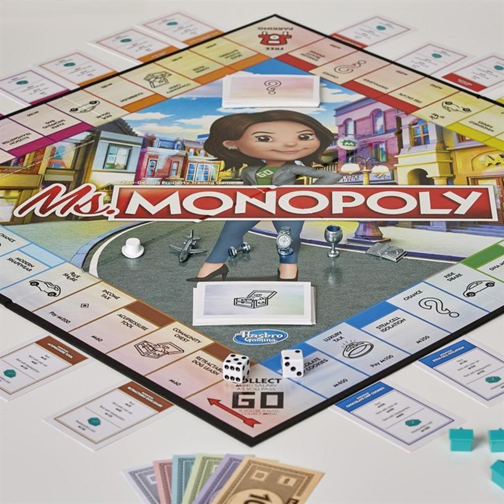 Picture of Hasbro Gaming: Ms Monopoly Board Game