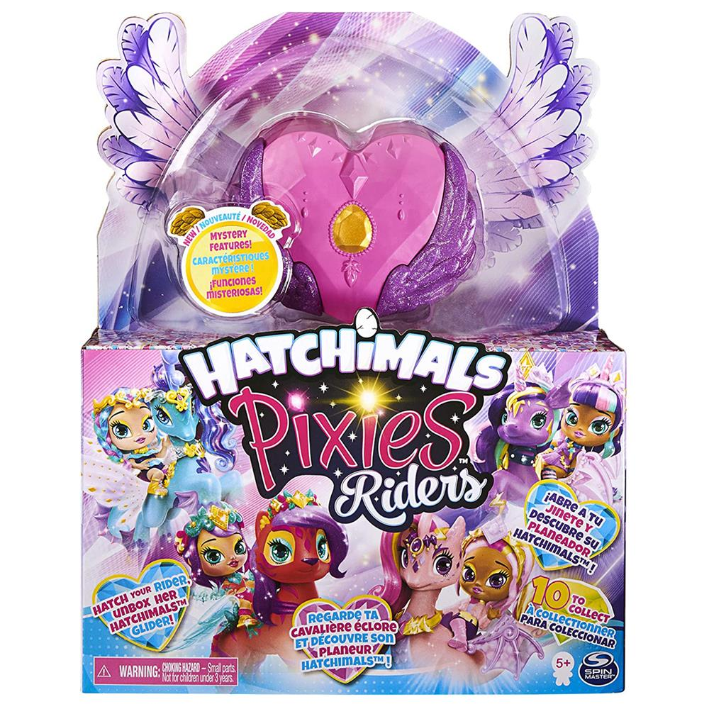 Picture of Hatchimals: Pixie Riders With Mystery Figure Set