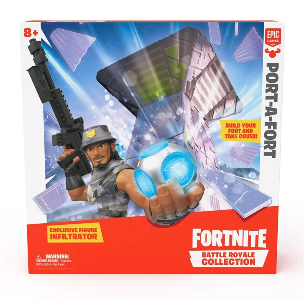 Picture of Fortnite: Port-A-Fort & Exclusive Figure Play Set