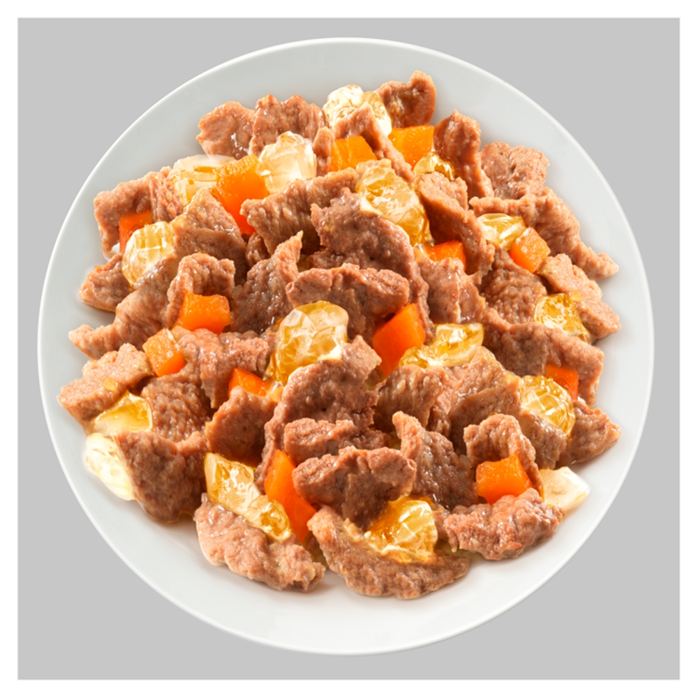 Picture of Cesar Adult Wet Dog Food Pouches Deliciously Fresh Mixed Selection in Jelly 48 x 100g