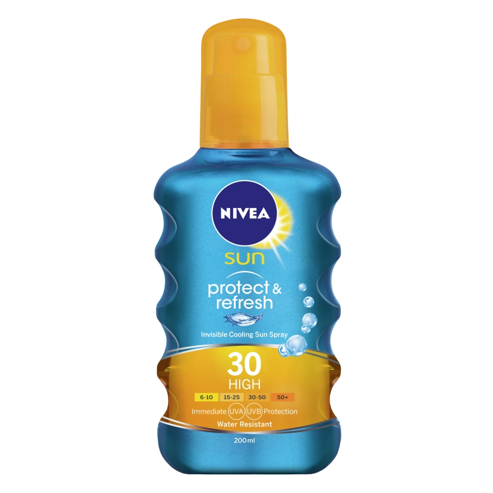 Picture of Nivea Sun Protect & Refresh Invisible Cooling Spray SPF30 200ml