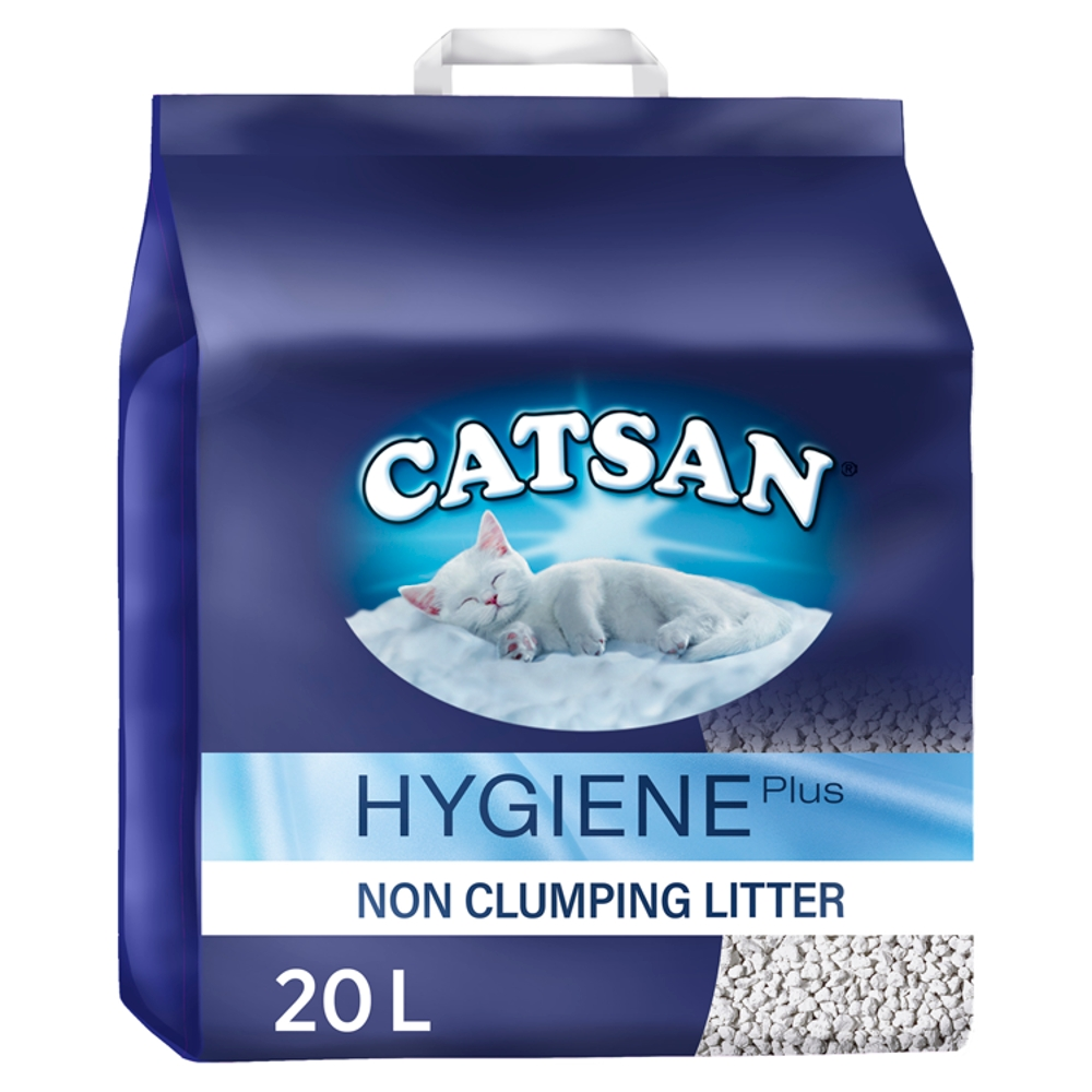 Picture of Catsan Hygiene Non-Clumping Cat Litter 20L