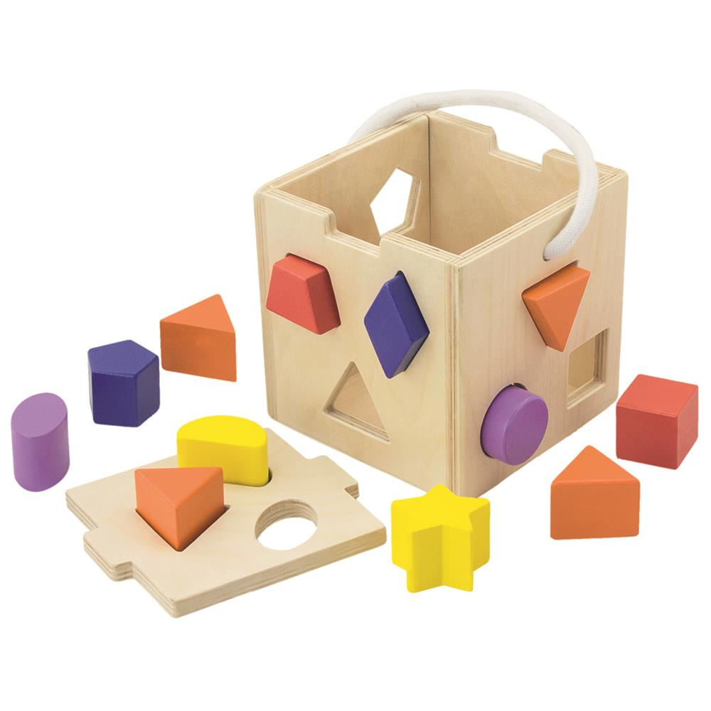 Picture of Wooden Classics Shape Sorter