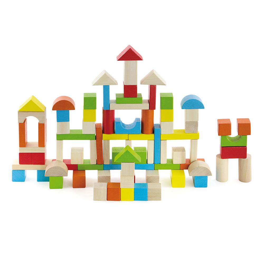 Picture of Wooden Classics 80 Piece Wooden Block Set