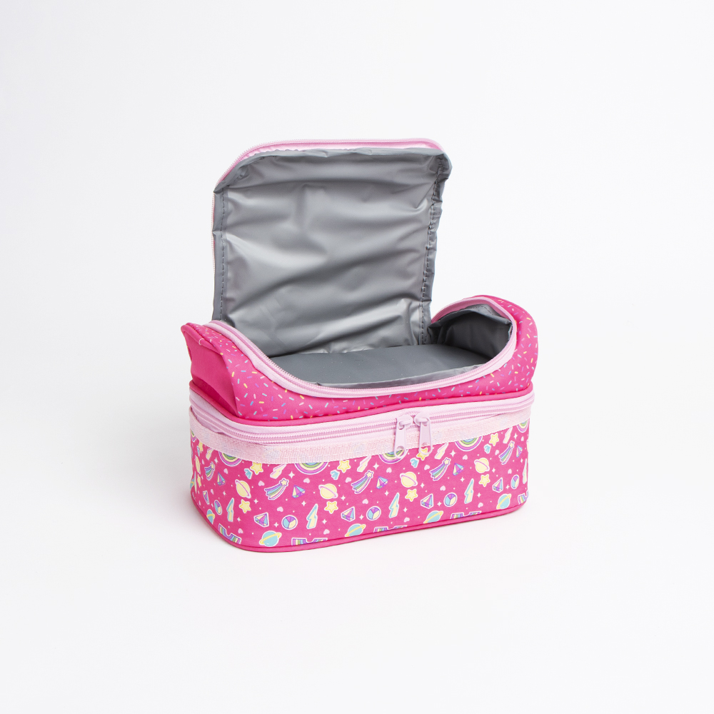Picture of Scribble Pop: Compartment Lunch Bag - Rainbow