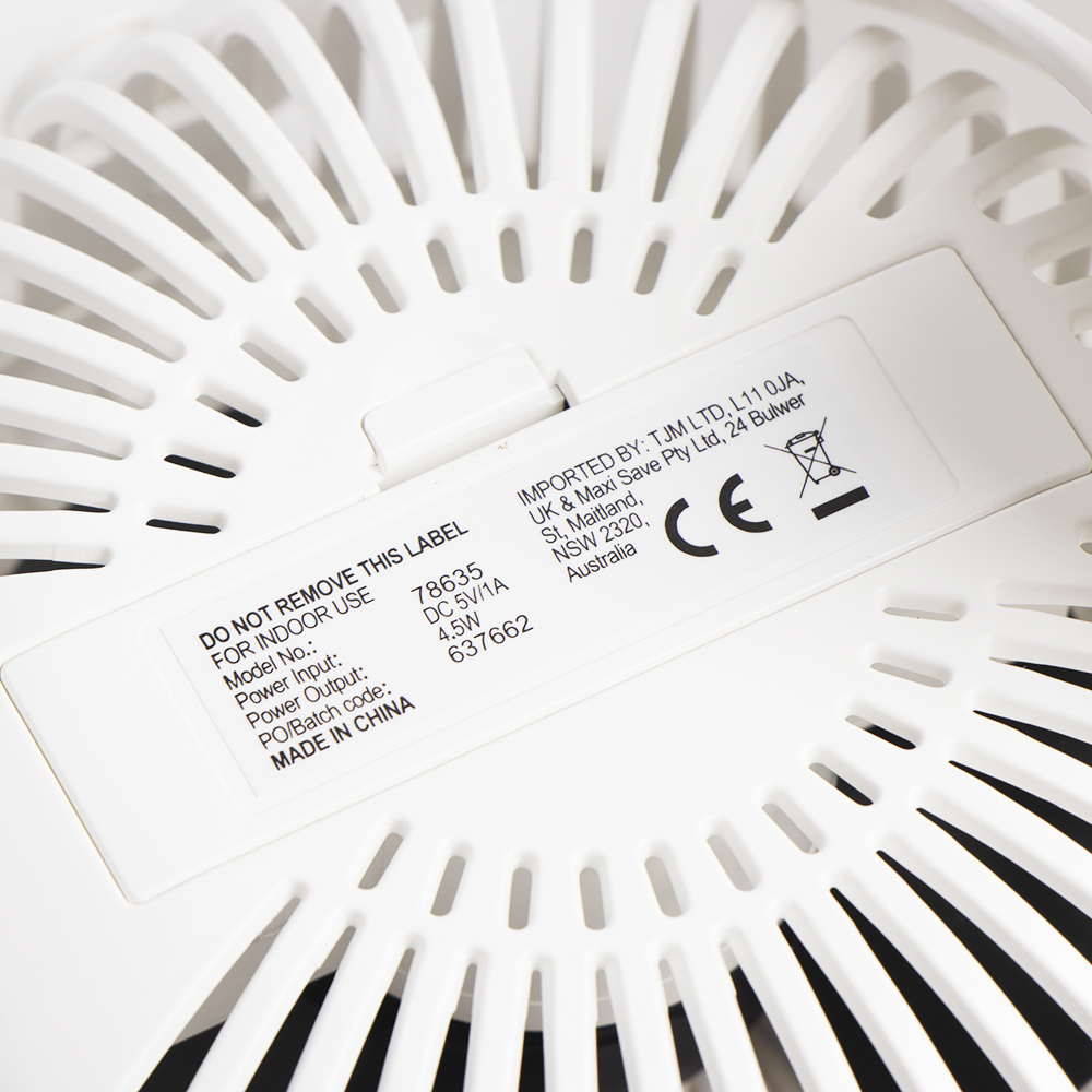 Picture of Nestech: Clip-on Fan - White