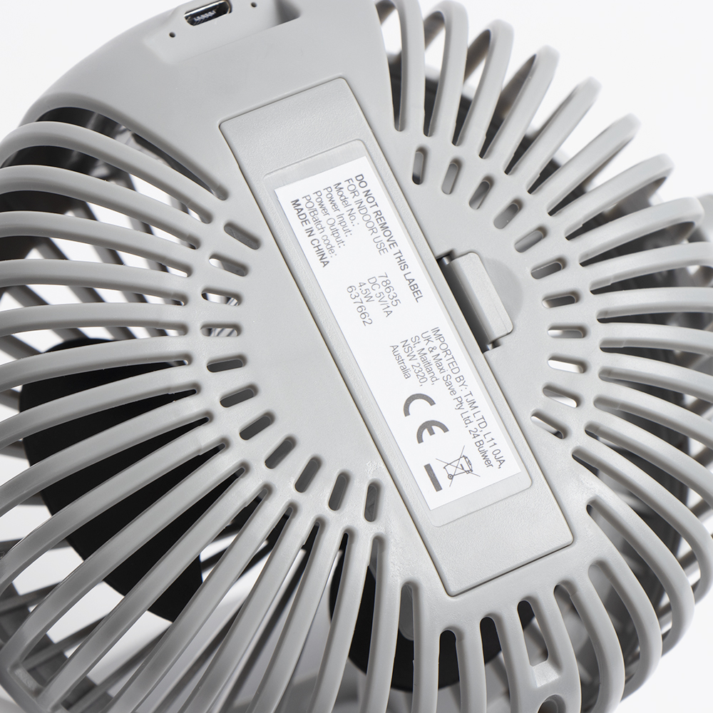 Picture of Nestech: Clip-on Fan - Grey