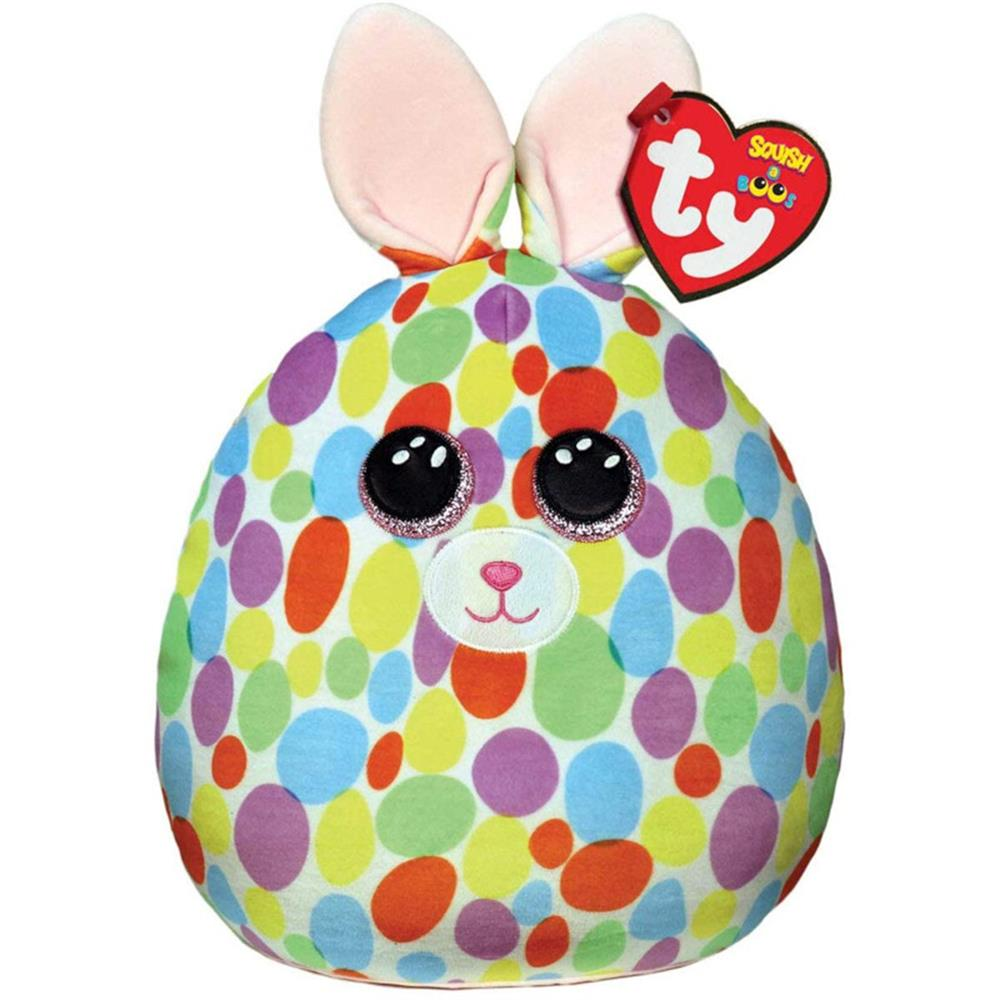 Picture of ty: Squish-A-Boo Spotty Rabbit Large: Bloomy