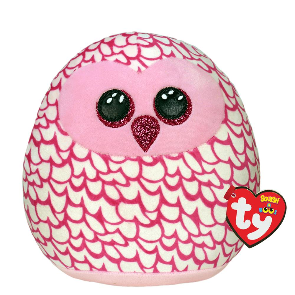 Picture of ty: Squish-A-Boo Pink Owl Large: Pinky