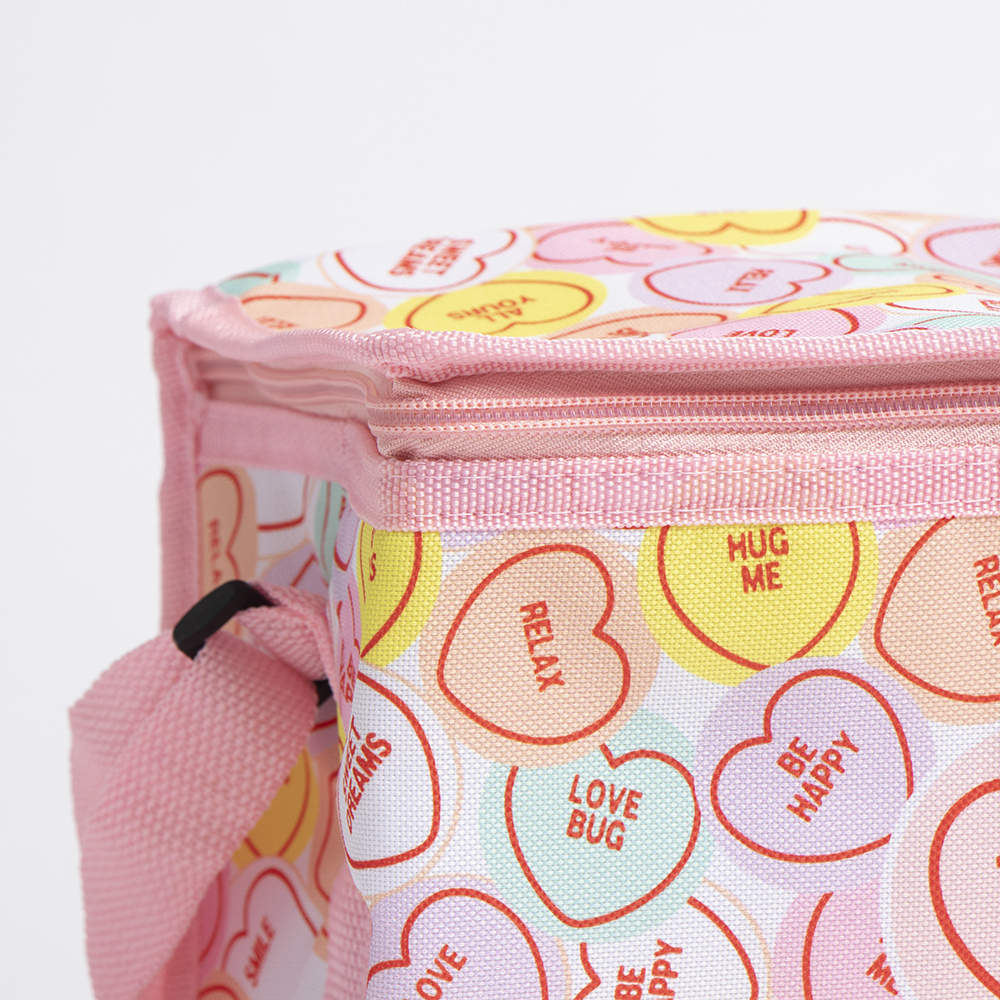 Picture of Swizzels: Love Hearts Insulated Lunch Bag