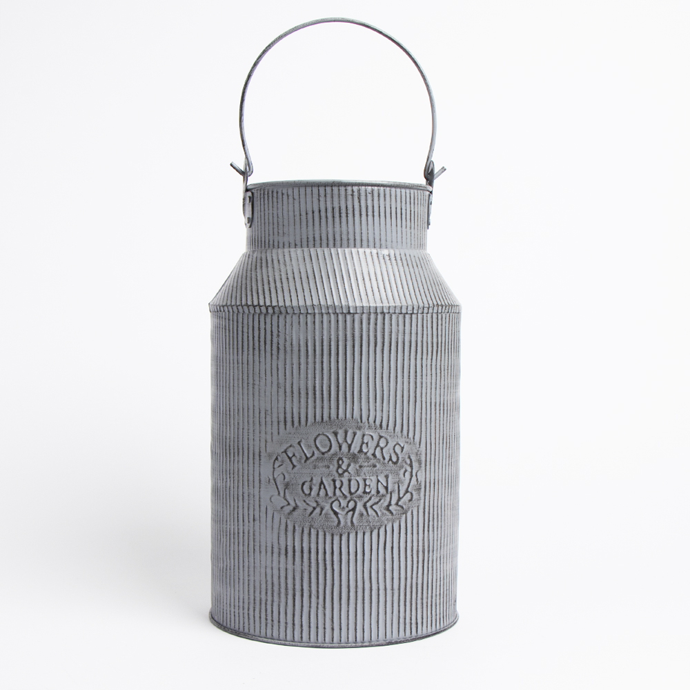 Picture of The Outdoor Living Collection: Decorative Milk Churn - Grey