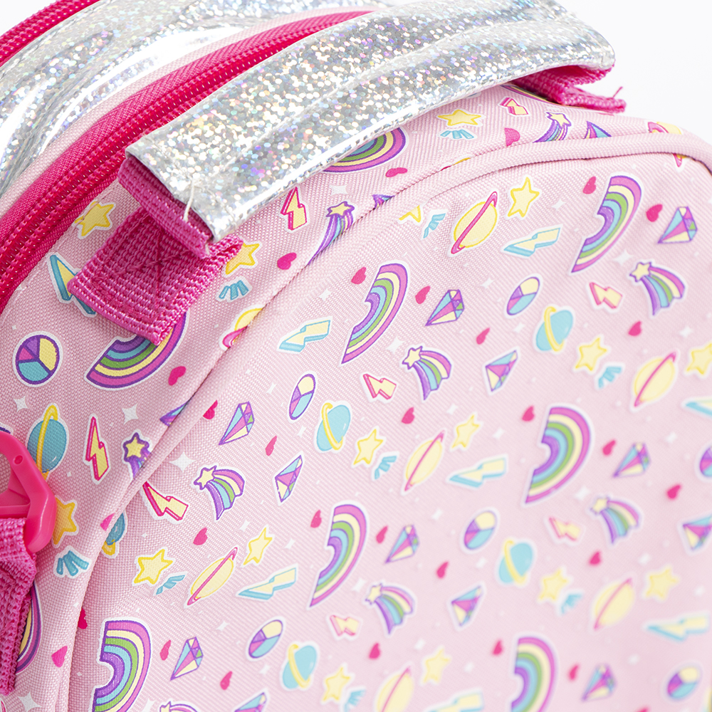 Picture of Scribble Pop: Large 3D Lunch Bag - Rainbow