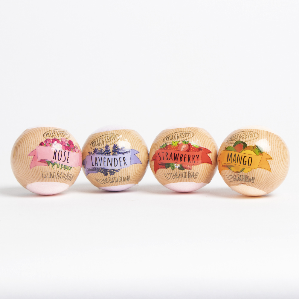 Picture of Relax & Revive Assorted Bath Bombs (Case of 24)