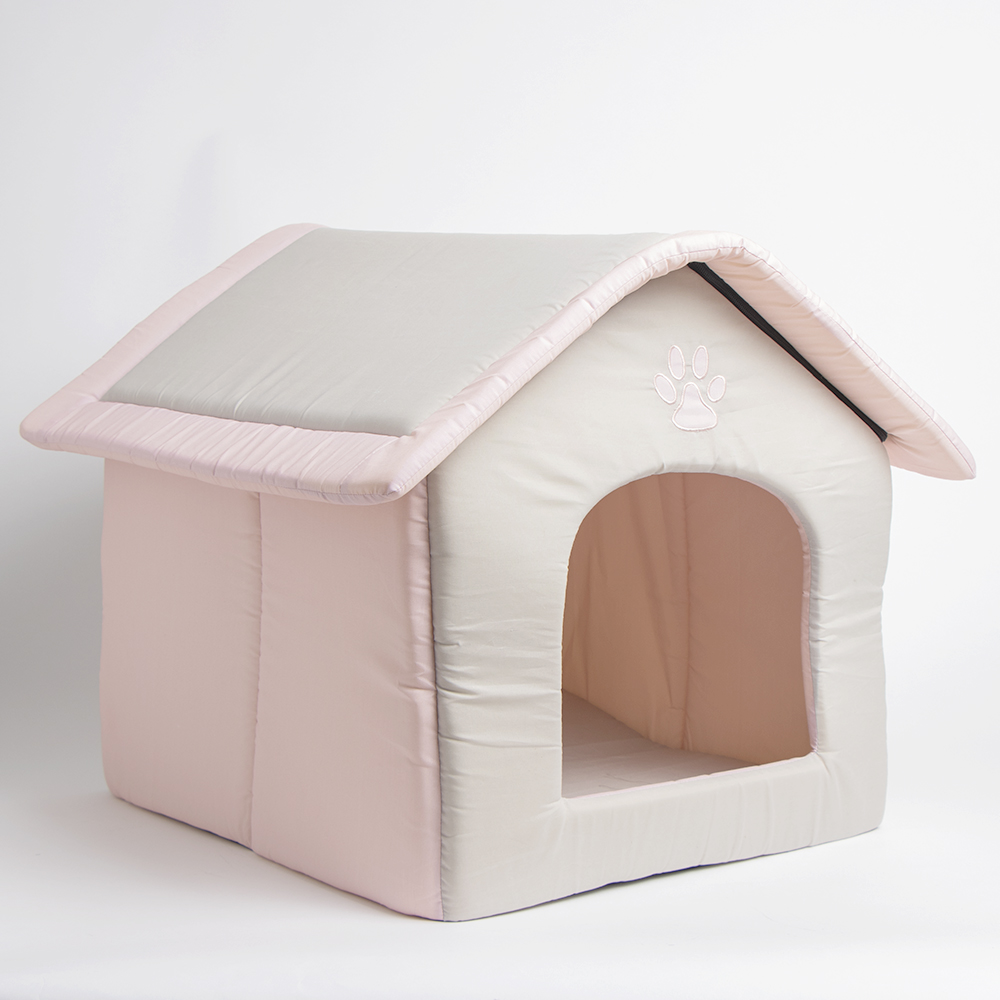 Picture of My Pets: Large Foldable Pet Bed - Pink/Stone