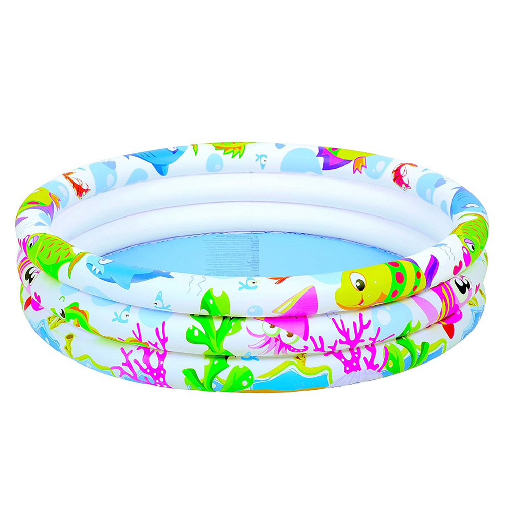 Buy Sun Club 3 Ring Inflatable Paddling Pool At Home Bargains