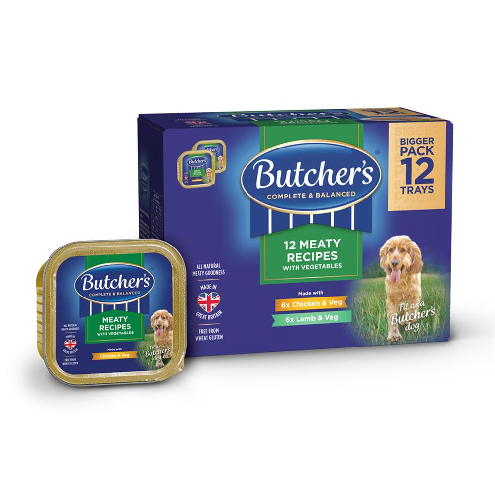 Picture of Butcher's: Meaty Recipes with Vegetables 12 x 150g