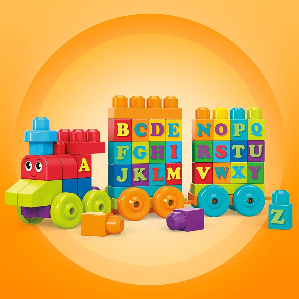 Picture of Fisher-Price Mega Bloks First Builders ABC Learning Train