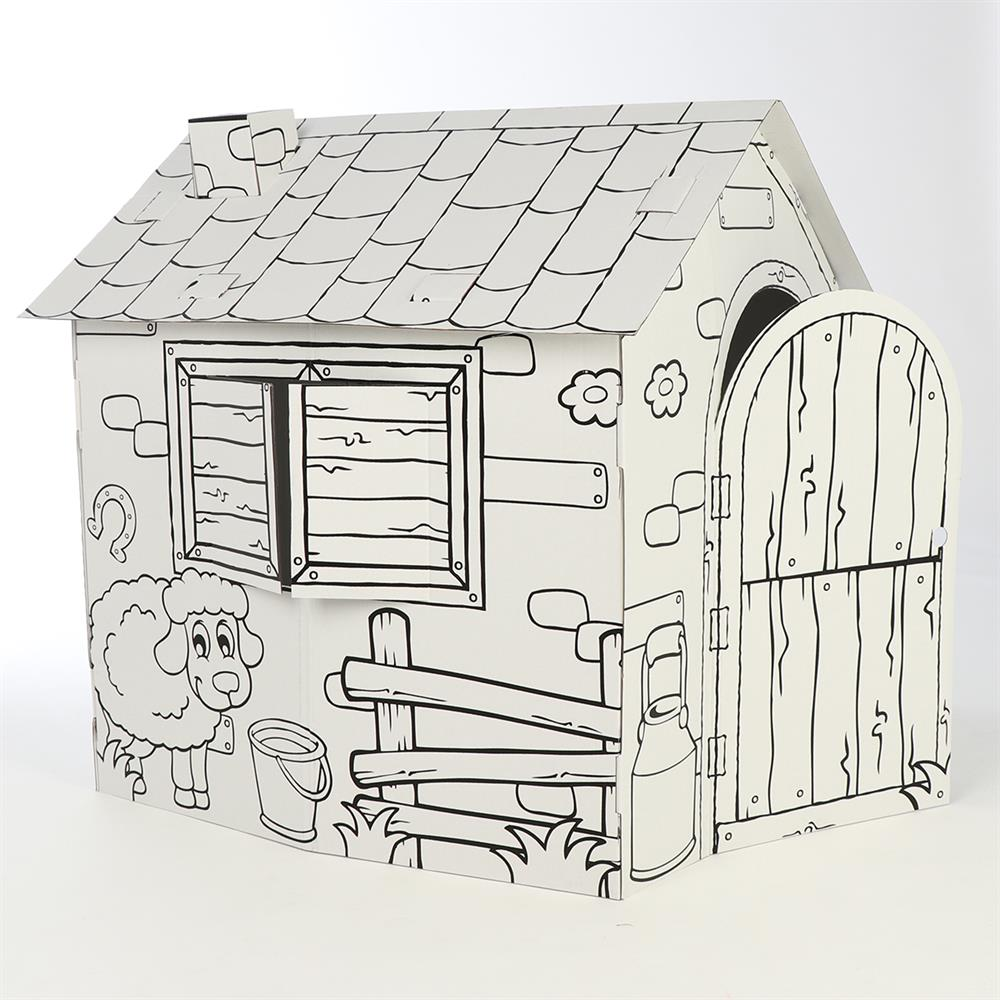 Picture of Create & Play: Colour Your Own Playhouse