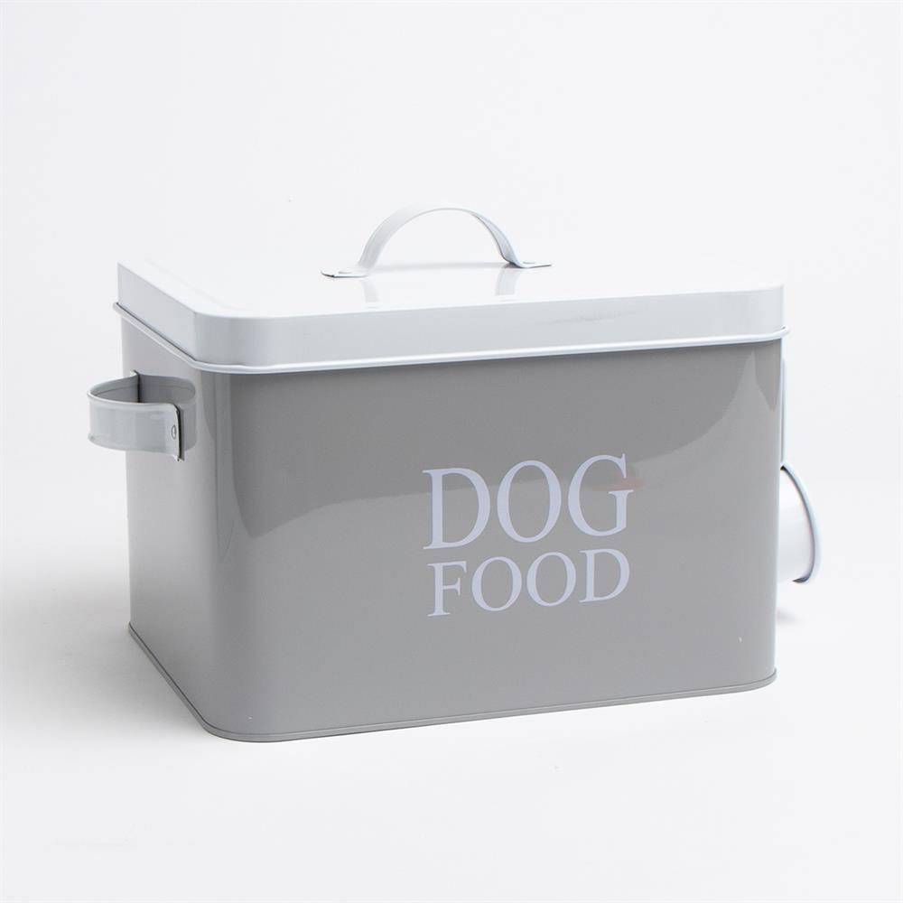 Picture of Dog Food Storage Tin with Scoop