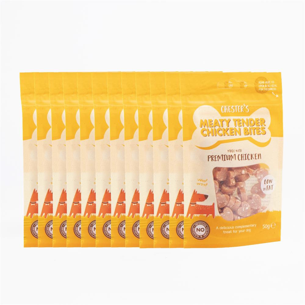 Picture of Chester's Meaty Tender Chicken Bites (12 x 50g Pack)