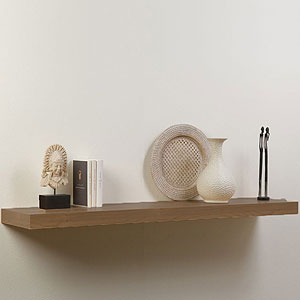 buy popular c126a d291a Buy Floating Wall Shelf: Wood Effect at Home Bargains