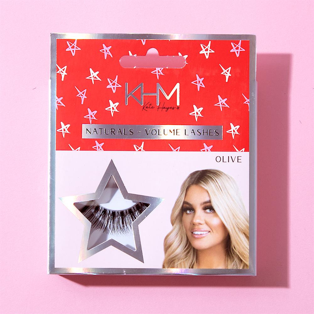 Picture of KHM Kate Hayes Naturals Volume Lashes: Olive (Set of 3)