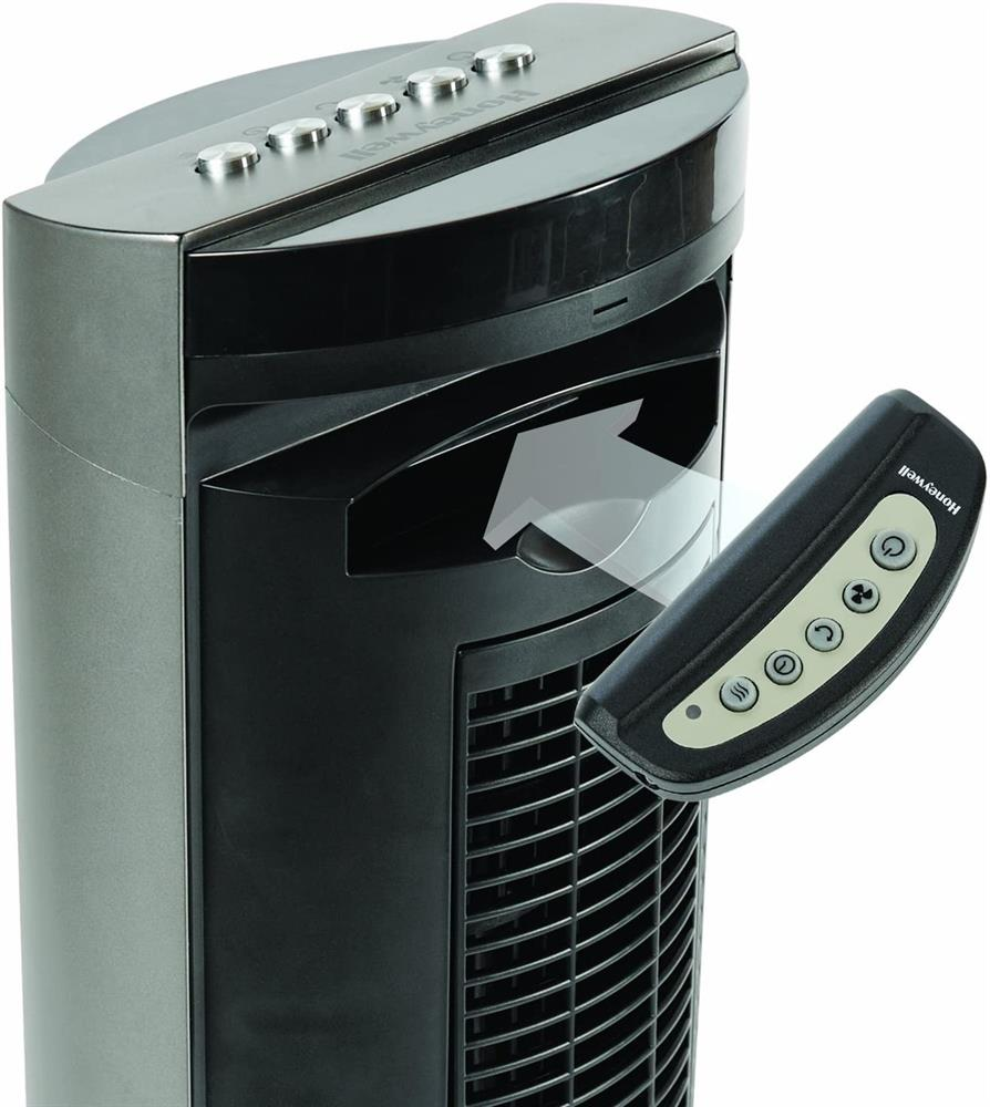 Picture of Honeywell Oscillating Tower Fan with Remote Control