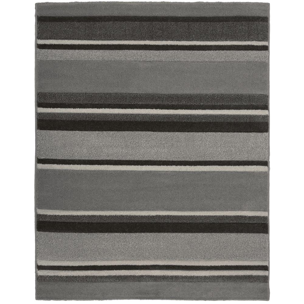 Picture of Carved Stripe Grey Rug 160 x 230cm