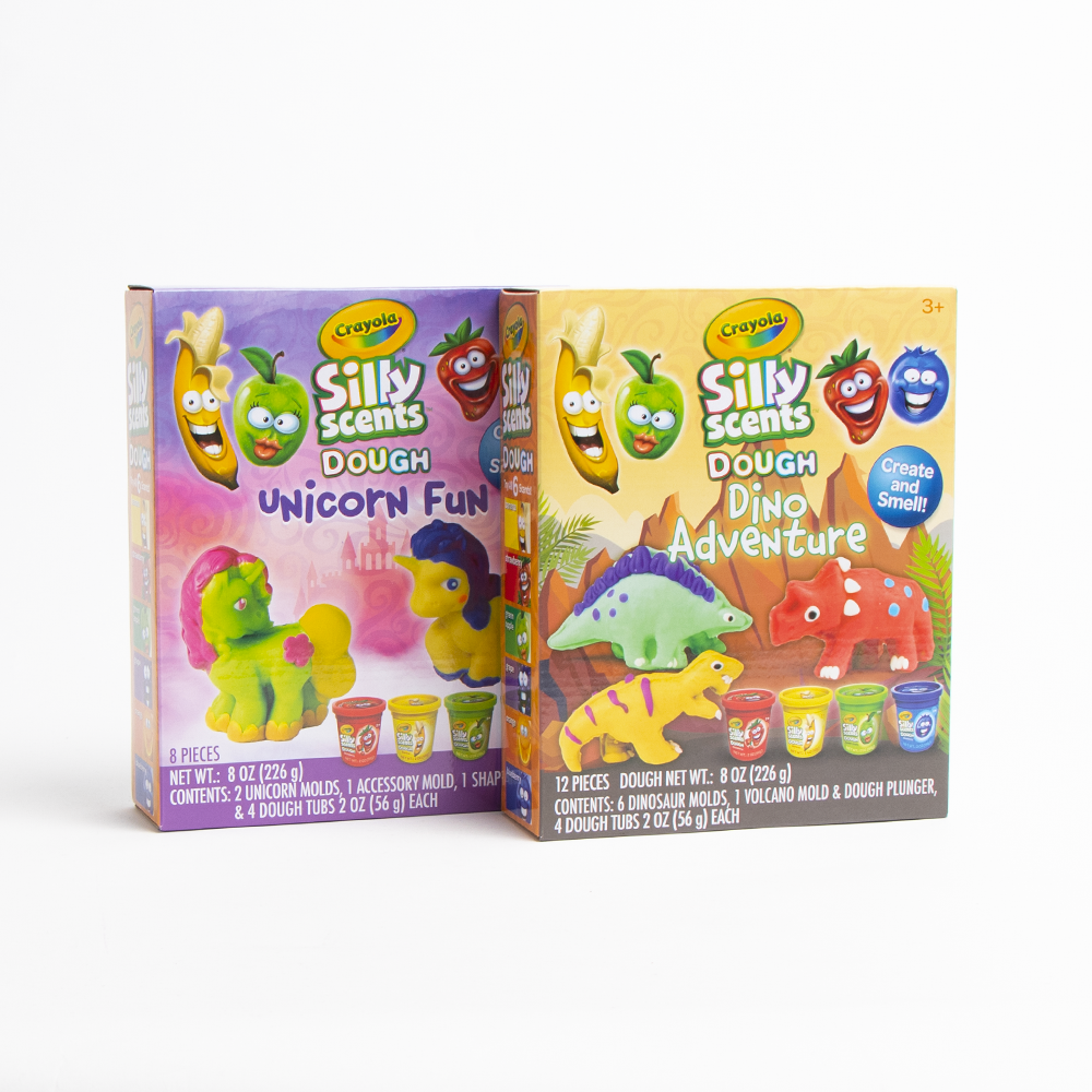 Picture of Crayola: Silly Scents Dough Unicorn Fun