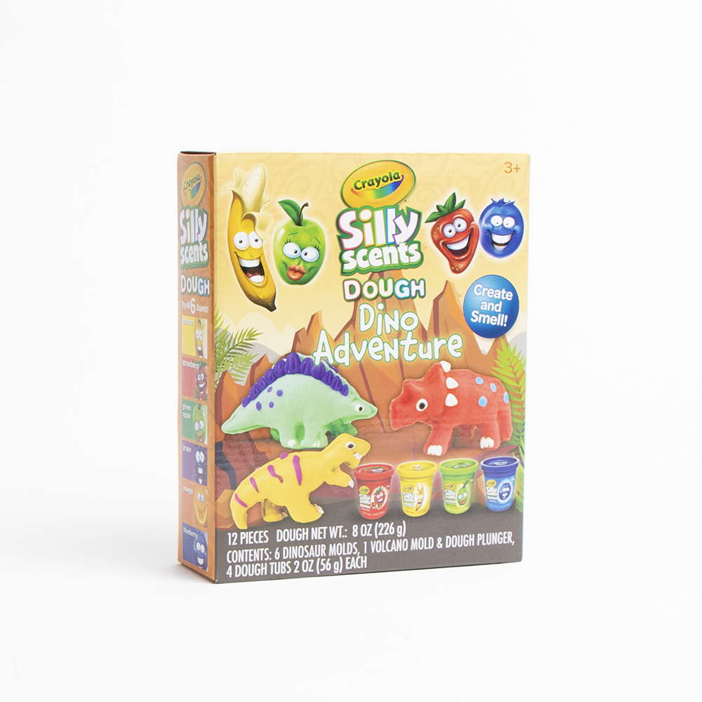 Picture of Crayola: Silly Scents Dough Dino Adventure
