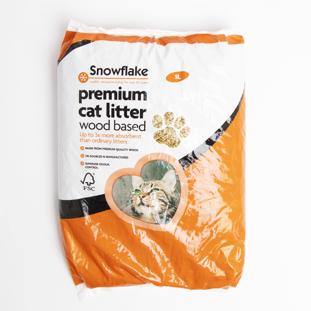 Picture of Premium Wood Based Cat Litter 5 Litre