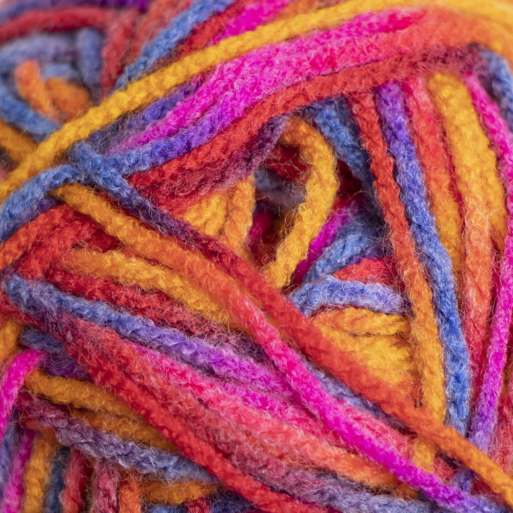Picture of Crafty Things: Printed Yarn - Multi/Rainbow (6 x 50g)