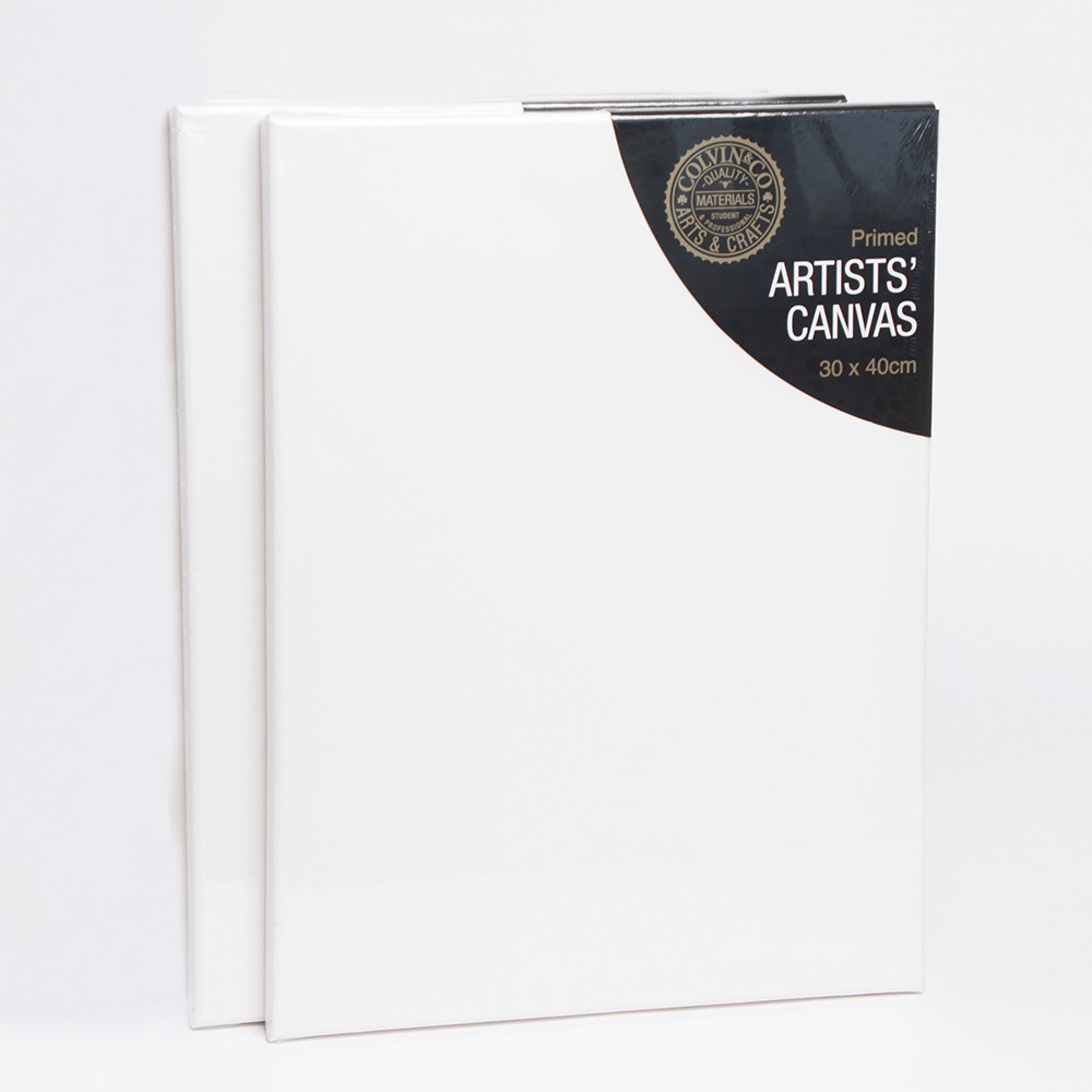 Picture of Artists' Canvas 30 x 40cm (Pack of 12)