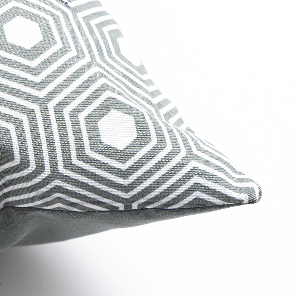 Picture of Jardin Privé Grey Print Outdoor Cushion