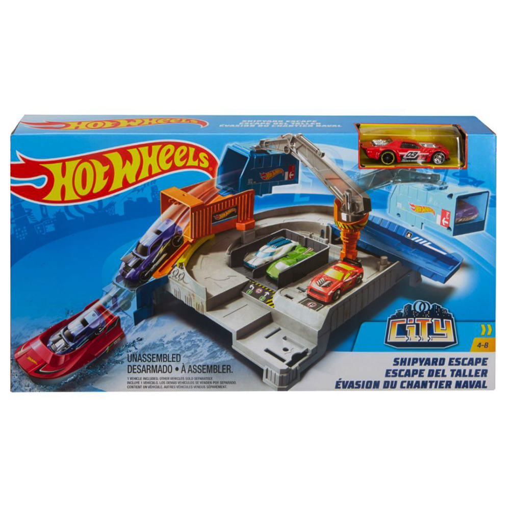Picture of Hot Wheels: City Shipyard Escape Playset