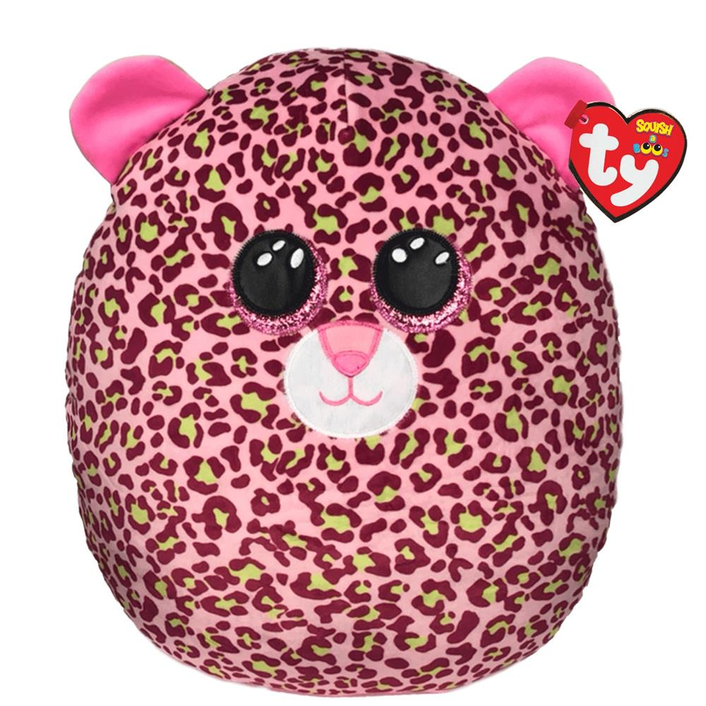 Picture of ty: Squish-A-Boo Pink Leopard Large - Lainey