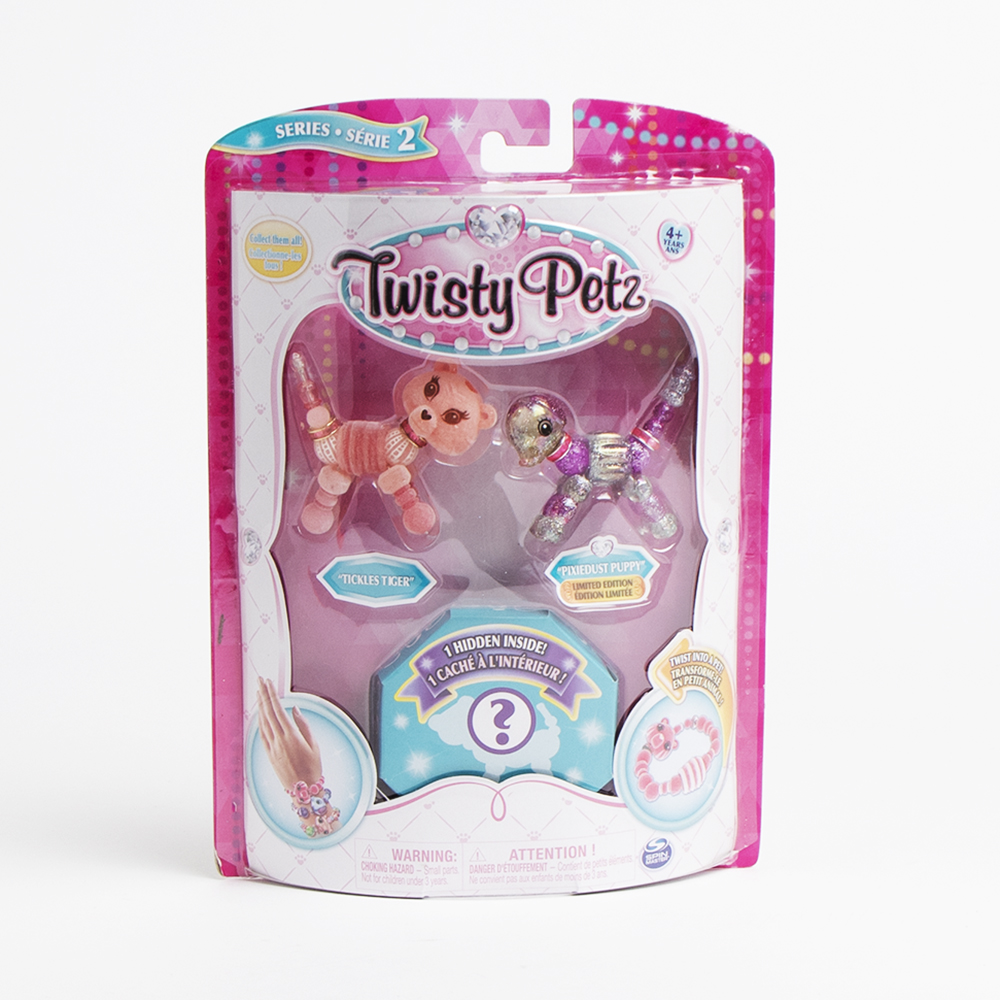 Picture of Twisty Petz: 3-Pack Surprise Collectible Bracelet Set for Kids - Series 2