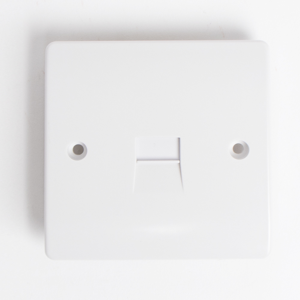 Picture of White Telephone Socket