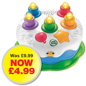 Picture of Leap Frog Counting Candles Birthday Cake