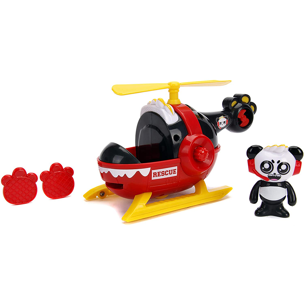 Picture of Ryan's World: Combo Panda Rescue Helicopter Playset