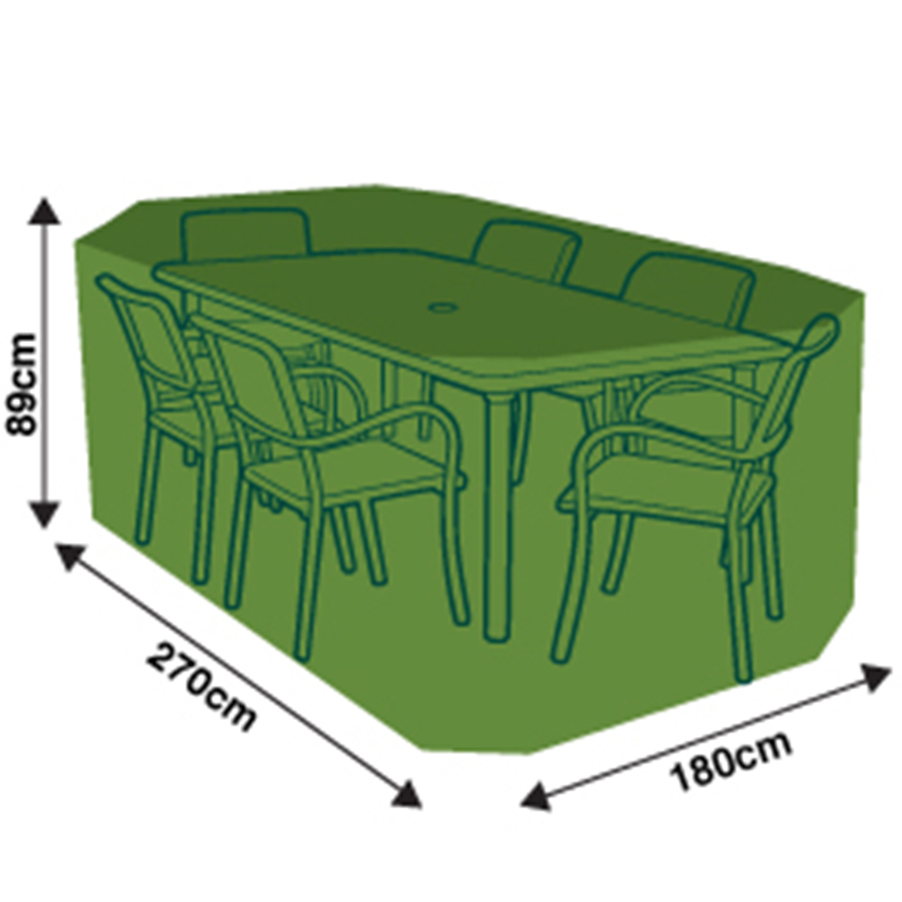 Picture of Garden: 6 Seater Rectangular Furniture Cover