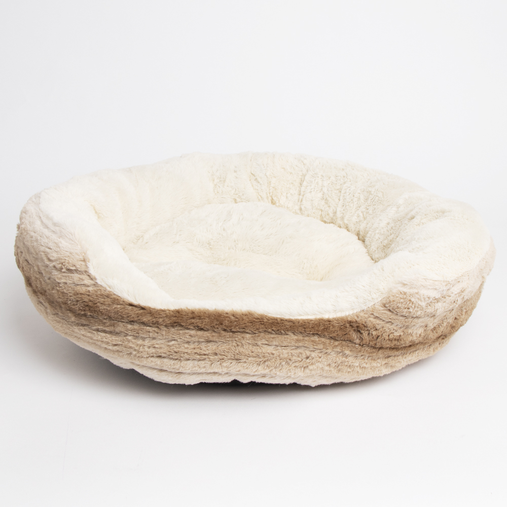 Picture of My Pets:  Plush Pet Bed - Brown