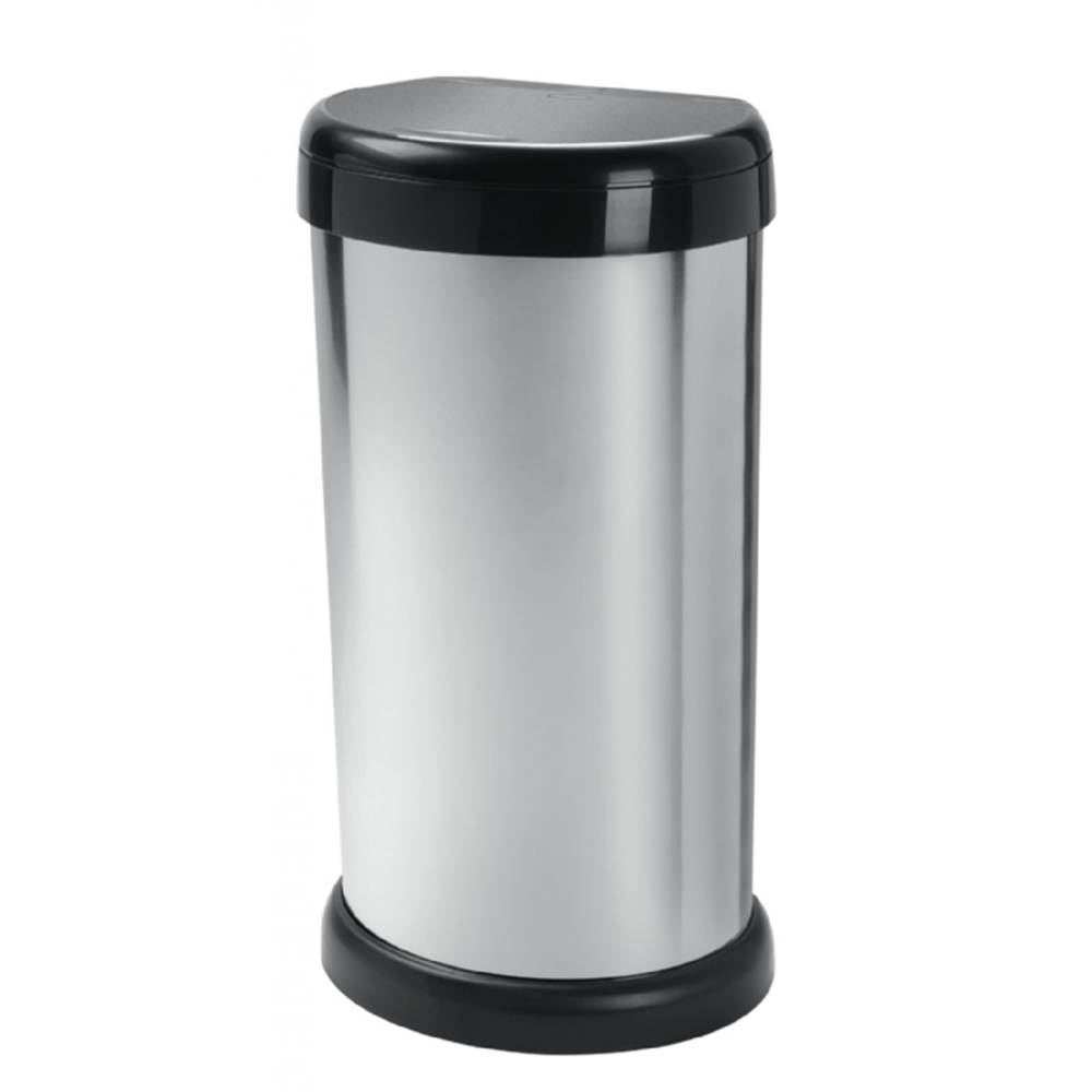 Picture of Moda 42 Litre Touch Lid Bin - Silver
