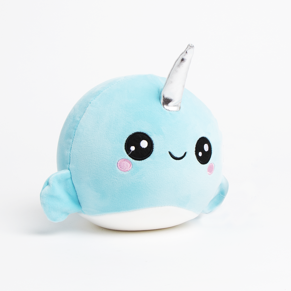 Picture of Jumbo Squeezems Plush Narwhal