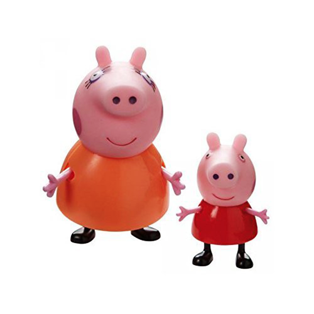 Picture of Peppa Pig: Figures 2 Pack - Mummy Pig & Peppa