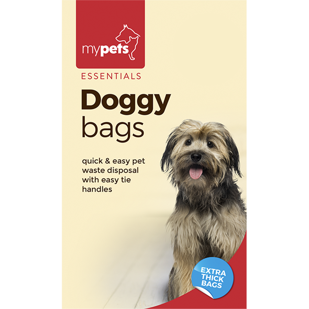 Picture of My Pets: Essentials 100 Extra Thick Doggy Bags (Case of 36)