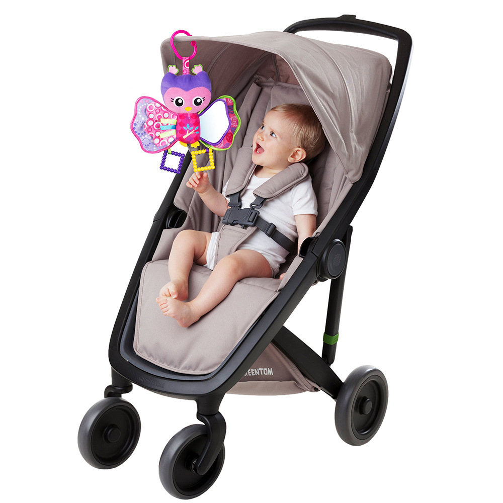 Picture of Playgro: Squeek Hooty Owl Stroller Friend