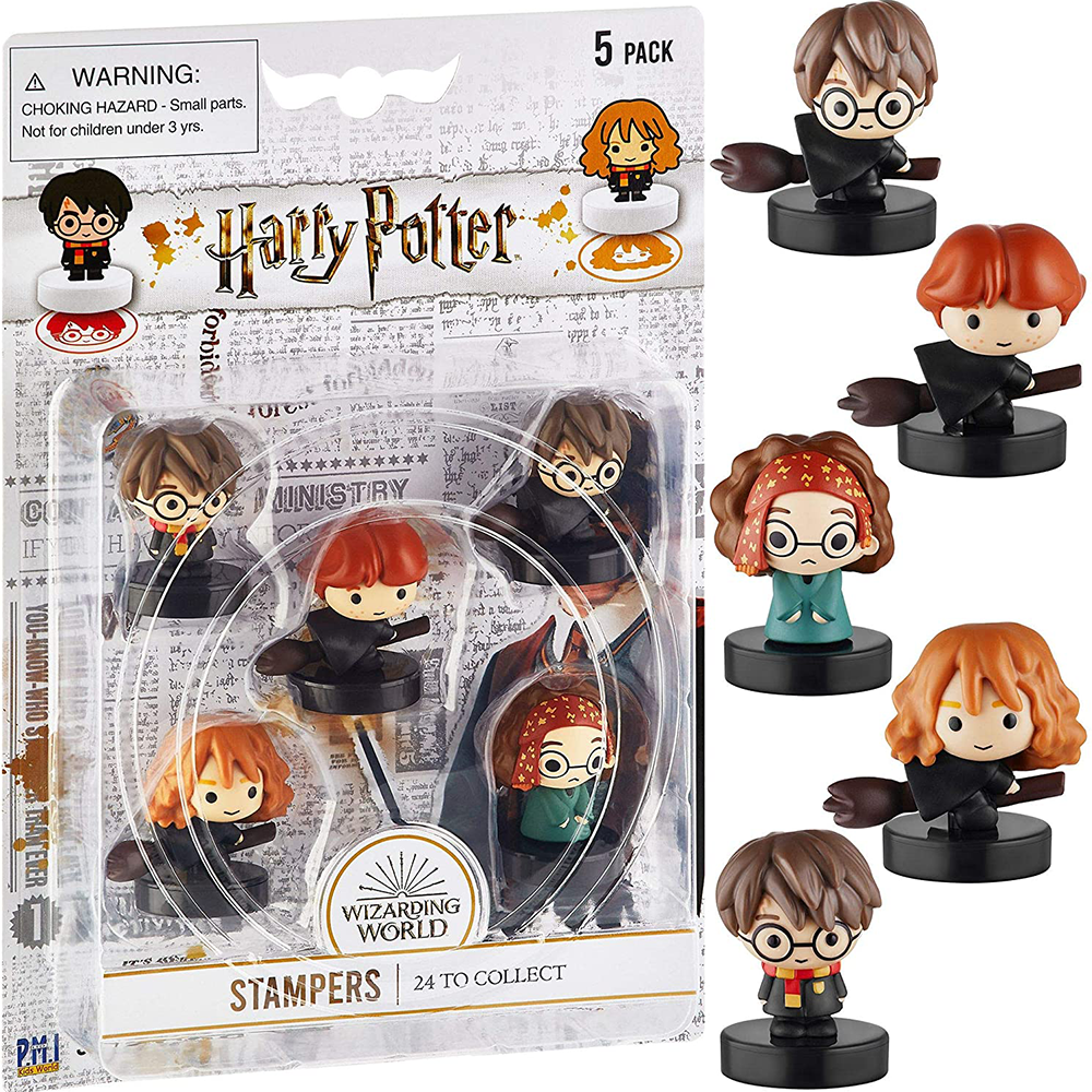Picture of Harry Potter: Wizarding World Character Stampers 5 Pack