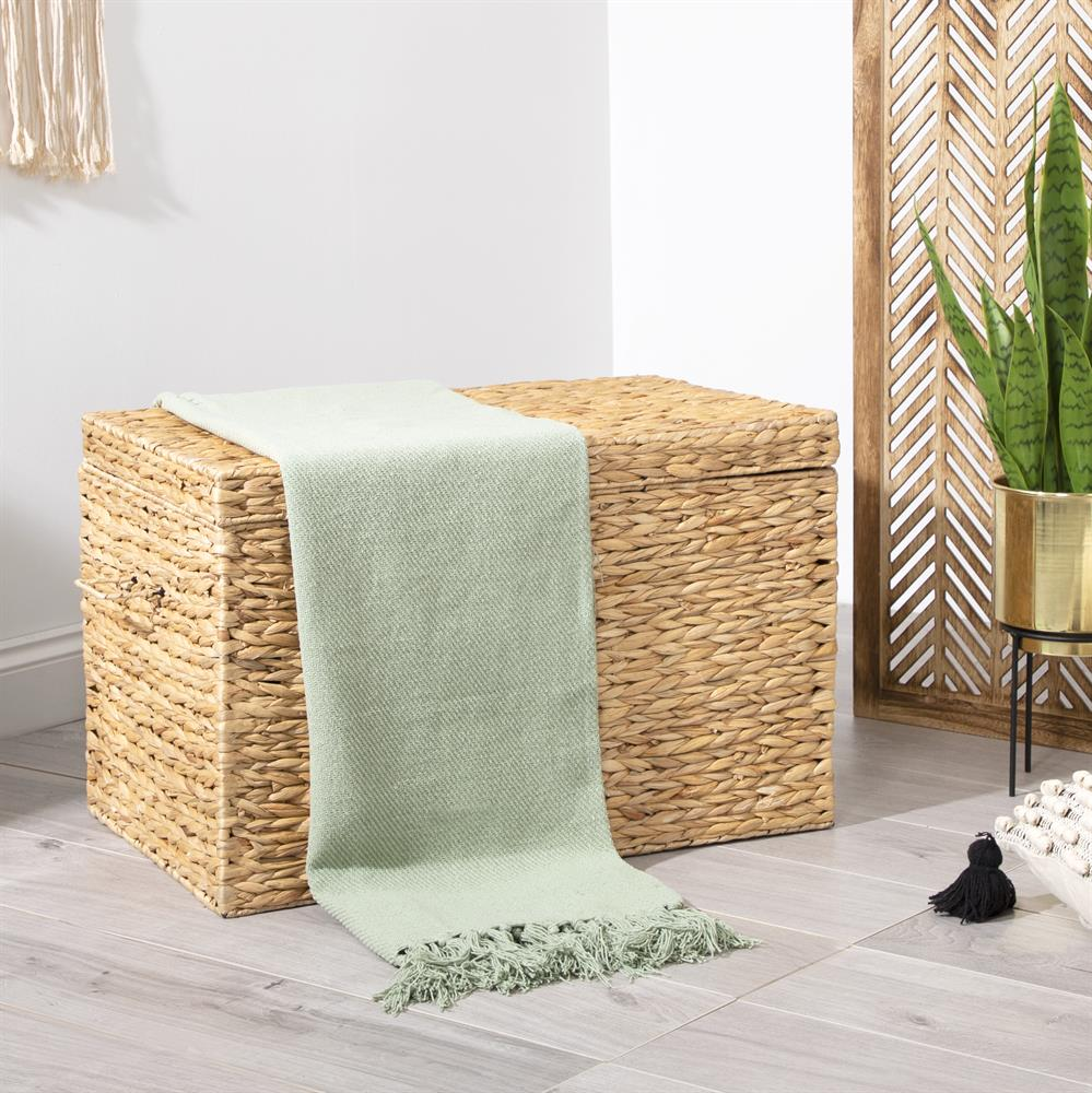 Picture of Home Collections: Cotton Throw - Mint Tea