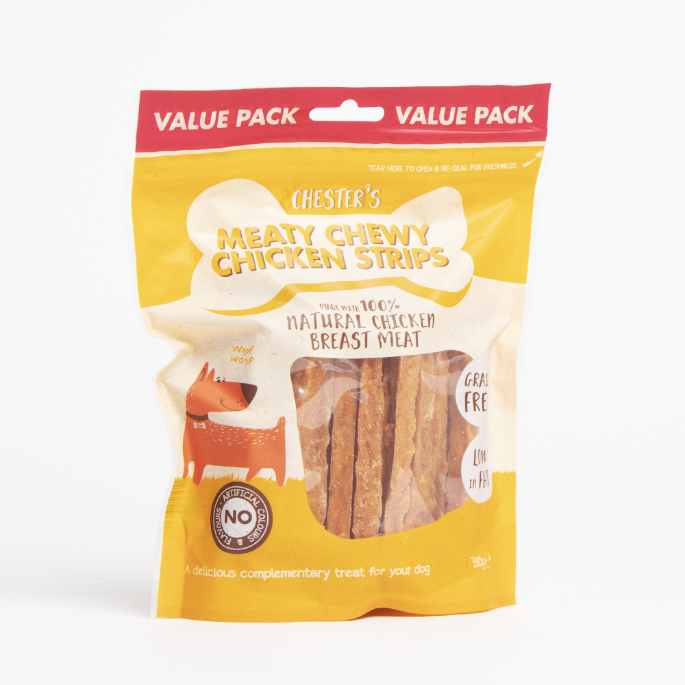 Picture of Chester's: Meaty Chewy Chicken Strips 330g